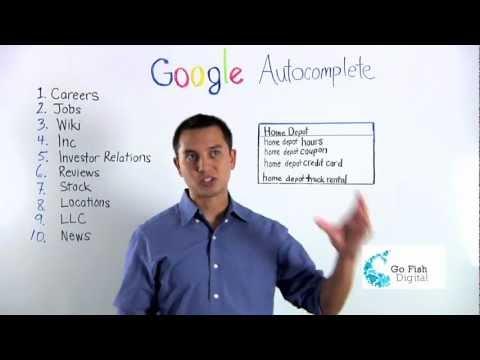 Reputation Management for Google Autocomplete