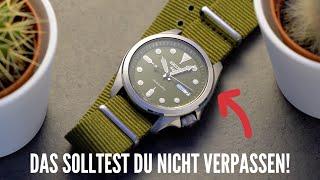 Die BESTE erste Uhr ! | Seiko 5 SRPE51 & SRPE65 Review | thewristguy.