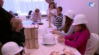 Юные новгородцы поучаствовали в ярмарке «Город профессий»