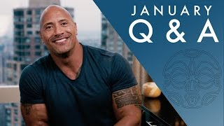 The Rock Responds To YouTube Comments - Seven Bucks January Q&A