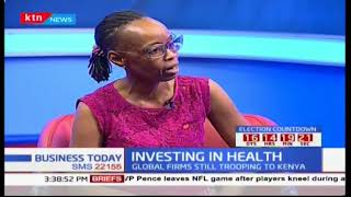 Business Today - 9th October 2017: Discussion - Investing in Health
