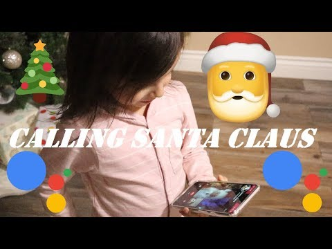 calling-santa-with-google-home