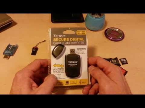 Review:) $8 TARGUS SD & Micro Card Reader ~SDHC 64GB Bootable~ at Walmart/Amazon TGR-MSD500