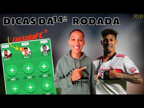 DICAS #14 CARTOLA FC - TIME PRINCIPAL ATUALIZADO!!!
