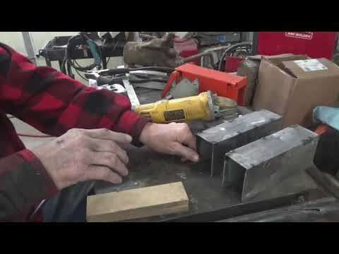 High production cedar shingle-lap siding jig for Wood-Mizer