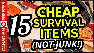 15 Affordable Survival Items