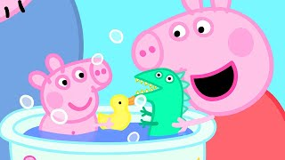Peppa Pig Official Channel   How's Peppa Pig as a Babysitter?   Peppa Pig Bath Time