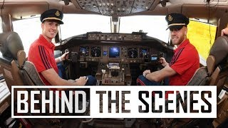 ✈️ Behind the scenes on the Emirates plane | Arsenal in USA 2019