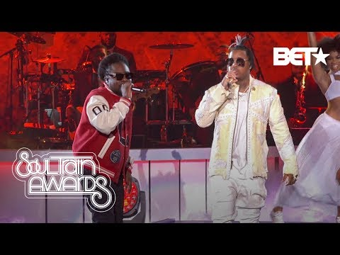 """Wale Performs """"On Chill"""" and """"Sue Me"""" With Jeremih & Kelly Price!   Soul Train Awards '19"""