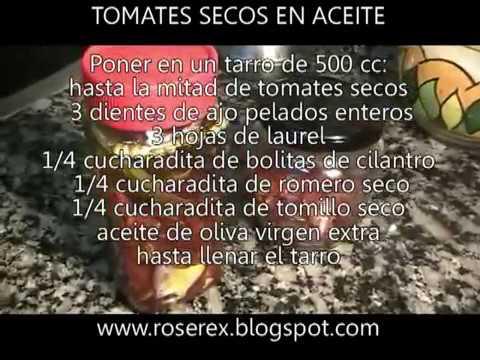 Cómo Hacer Tomates Secados al Sol Naturales y Caseros