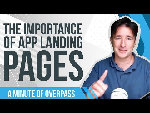 📱 The Importance of App Landing Pages - App Store Optimization