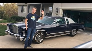 LAND YACHT LOVIN: My 1978 Lincoln Continental Town Coupe