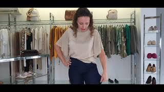 Vídeo Calça Jeans Skinny Classic Fit Scalon