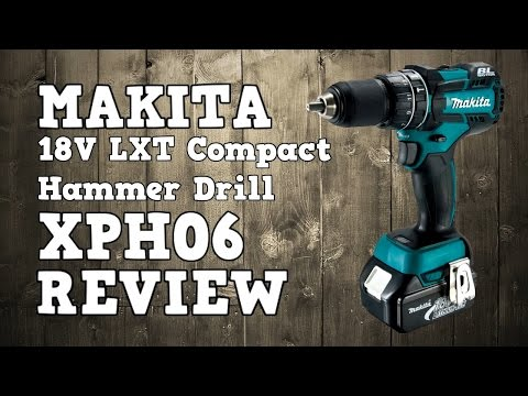 Makita XPH06 / LXPH06 Brushless LXT 18V 1/2″ Hammer Drill Review