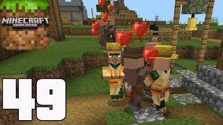 Minecraft: Pocket Edition - Gameplay Walkthrough Part 49 - Survival (iOS, Android, Windows 10)