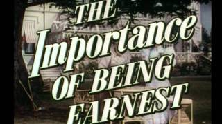 The Importance of Being Earnest (1952) trailer
