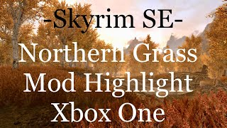 Skyrim SE- Northern Grass- Xbox One