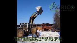 Купить фронтальный погрузчик КУН 4,6 м на МТЗ 82, 892 от компании Агрикомаш ООО - видео