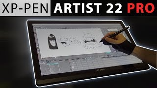 XP-Pen ARTIST 22 PRO - REVIEW by a Professional Animator!
