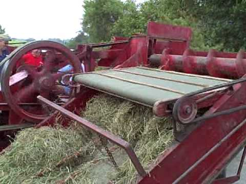 Old New Holland Baler