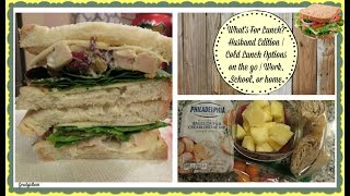 What's In My Husband's Lunch? | Cold Lunch Ideas for anyone on the go