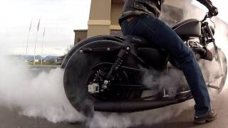 Custom Sportster Burnout