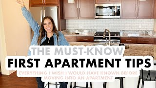 First Apartment Tips You NEED To Know Before Moving Into Your Apartment