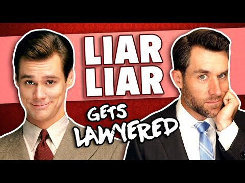 Real Lawyer Reacts to Liar Liar (Part 1)