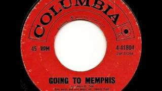 Going To Memphis by Johnny Cash on MONO 1960 Columbia 45.