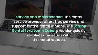 What are the Benefits of Laptop Rentals in Dubai?