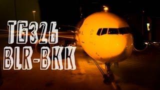 Thai Airways TG326 : Flying from Bengaluru to Bangkok