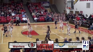 GBB Sectional 37 AA Game 1 Oak Hill vs North Miami