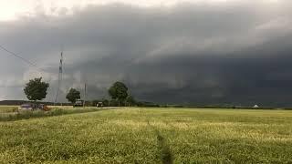 Fast Ein Tornado In Der Nähe Von München.