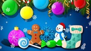 Анимационный Мультик. Новогодний обзор про Киндеры с игрушками Вспыш, игрушки Фиксики для детей