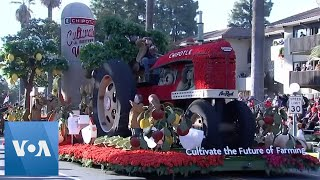 131st Rose Parade Held in California