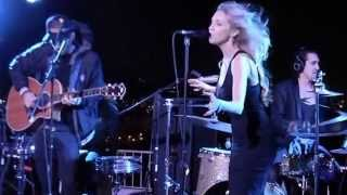 rocknycliveandrecorded.com: Brandon & Leah @record release party in West Hollywood