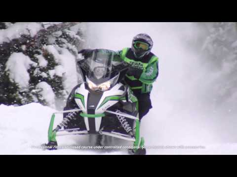 "2016 Arctic Cat ZR 9000 137"" Sno Pro ES in Roscoe, Illinois - Video 1"