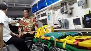 Hanya Dibangun Tujuh Bulan, Djarot Resmikan Gedung Ambulans Gawat Darurat