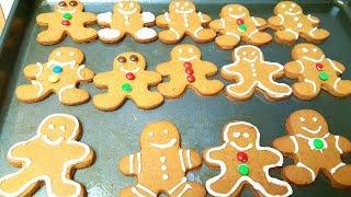 The Best Gingerbread Man Cookies | Eggless Gingerbread Cookies