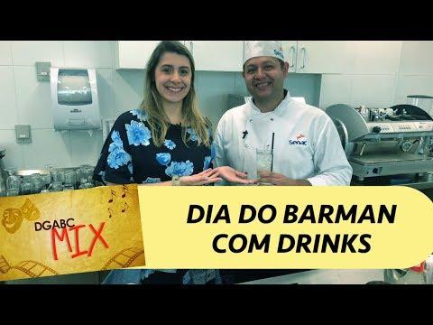 DGABC MIX traz um bartender pra te ensinar a fazer deliciosos drinks!!
