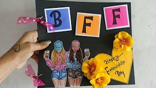 Friendship Day Scrapbook || Best Friendship day Gift|| Friendship Scrapbook Tutorial