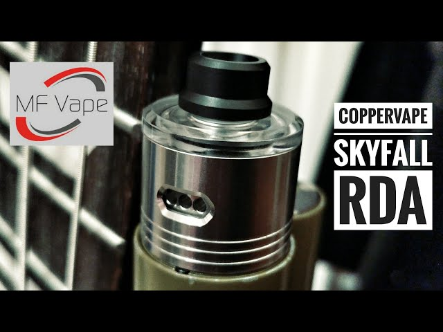 Coppervape Skyfall RDA - Review, rebuild & wick