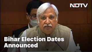 Election Commission Announces Bihar Poll Dates - Download this Video in MP3, M4A, WEBM, MP4, 3GP
