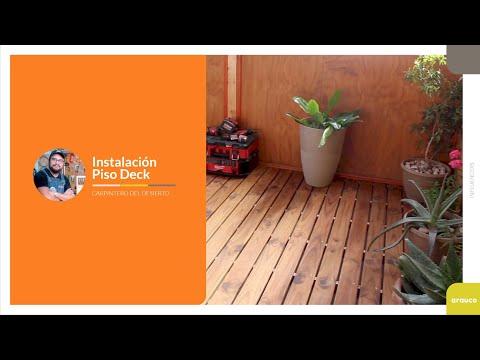 VIDEO CÓMO HACER con Carpintero del Desierto: Instalación Piso Deck en Terraza