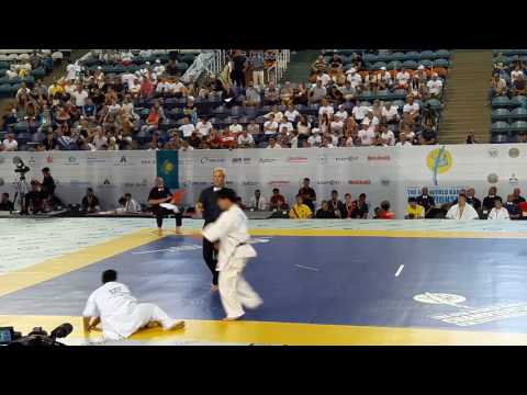 Yuki Maeda Vs Mathew Ah Chow. The 6th World Karate Championship - Beamerboy