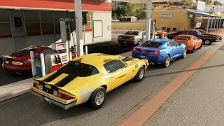 Forza Horizon 3 | 1000HP RWD Drag Meet Pt.2 | TT '79 Z28, Viper, SN95, Supras & More