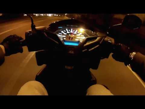Honda Click 150i TopSpeed Test