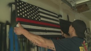 New Mexico Firefighter Turns Fire Hoses Into Art