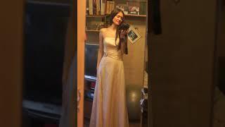 продам счастливое свадебное платье, французское - Pronuptia, золотисто-беж. Новое!!!  44-46р. Спб
