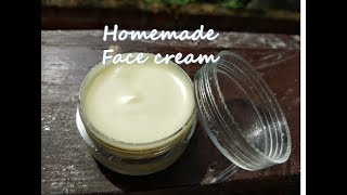 Homemade Face Cream For Glowing Skin